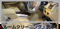 ルームクリーニング・洗車